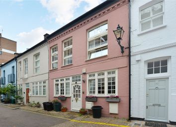Thumbnail 4 bed mews house for sale in Ovington Mews, London
