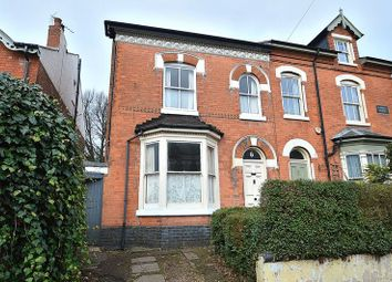 Thumbnail 4 bed semi-detached house for sale in Vicarage Road, Kings Heath, Birmingham