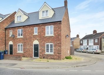 Thumbnail 3 bedroom end terrace house for sale in The Chase, Leverington Road, Wisbech