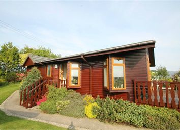Thumbnail 2 bed mobile/park home for sale in Lodge 10, Violet Bank Holiday Park, Cockermouth, Cumbria