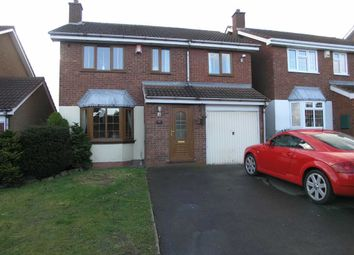 Thumbnail 4 bedroom detached house for sale in Roper Way, Dudley