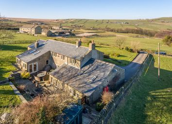 Thumbnail 4 bed farmhouse for sale in Cop Hill Side, Slaithwaite, Huddersfield
