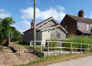 Thumbnail Land for sale in Former Village Hall, Vicarage Road, Paston, North Walsham, Norfolk