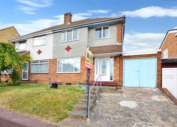 Thumbnail 3 bed semi-detached house for sale in The Beeches, Walderslade, Chatham, Kent