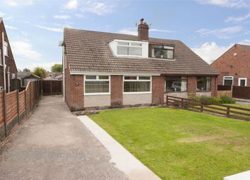Thumbnail 3 bed semi-detached bungalow for sale in Conway Road, Hindley Green, Wigan, Lancashire