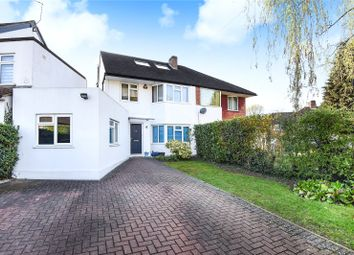 Thumbnail 4 bedroom semi-detached house for sale in Silverston Way, Stanmore, Middlesex