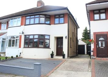 Thumbnail 3 bed semi-detached house for sale in Hanover Gardens, Ilford