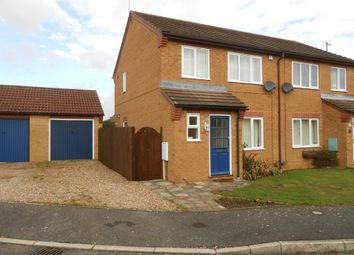 Thumbnail 3 bed semi-detached house to rent in Hunters Drive, Metheringham, Lincoln