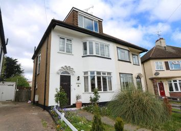 Thumbnail 4 bed semi-detached house for sale in Woodcroft Close, Hadleigh, Benfleet