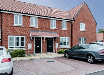 Thumbnail 3 bed terraced house for sale in Franklin Road, Saxmundham, Suffolk