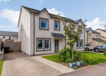 Thumbnail 3 bed semi-detached house for sale in Lyall Street, Laurencekirk