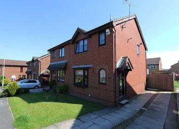 Thumbnail 3 bed semi-detached house for sale in Hopefield Court, Rothwell, Leeds, West Yorkshire