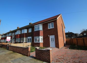 Thumbnail 3 bedroom end terrace house for sale in South Hall Drive, Rainham