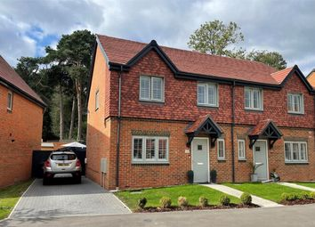 Thumbnail 3 bed semi-detached house for sale in Thornycroft Avenue, Deepcut, Camberley, Surrey