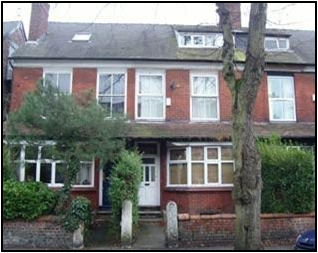 Thumbnail 4 bed terraced house to rent in Bamford Road, Didsbury