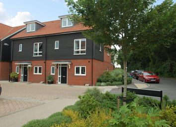 Thumbnail 4 bed town house to rent in Schuster Close, Cholsey, Wallingford