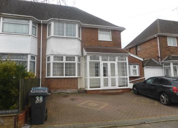 Thumbnail 3 bed semi-detached house to rent in Standlake Avenue, Hodge Hill, Birmingham