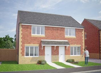 Thumbnail 2 bed semi-detached house for sale in The Cork, Woodhorn Lane, Ashington, Northumberland