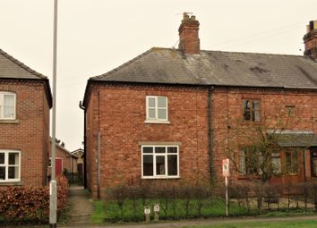 Thumbnail 2 bed end terrace house to rent in Bardney Road, Wragby, Market Rasen