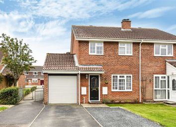 Thumbnail 3 bed semi-detached house for sale in Cacklebury Close, Hailsham