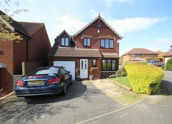 Thumbnail 3 bedroom detached house for sale in Thornhill Drive, St Andrews Ridge, Swindon