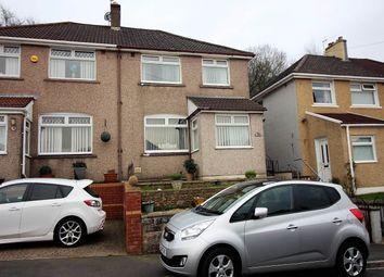 Thumbnail 3 bed semi-detached house for sale in Graig Park Hill, Malpas, Newport