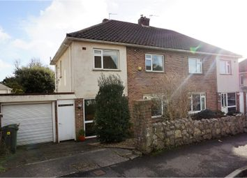 Thumbnail 4 bedroom semi-detached house for sale in Hendre Close, Llandaff