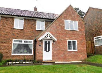 Thumbnail 4 bed semi-detached house for sale in Oakley Road, Bordon