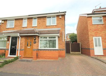 Thumbnail 2 bedroom semi-detached house for sale in Alsager Close, Oakwood, Derby