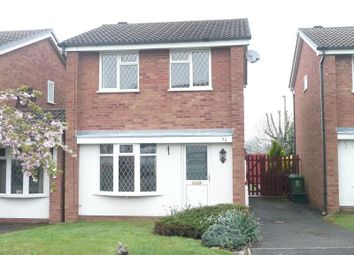 Thumbnail 3 bed detached house to rent in Naseby Road, Perton, Wolverhampton