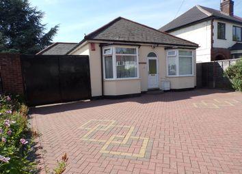 Thumbnail 3 bed detached bungalow for sale in Sheaf Lane, Sheldon, Birmingham