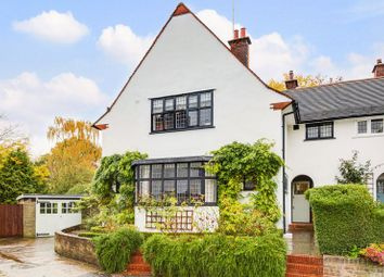 Thumbnail 4 bed semi-detached house for sale in Temple Fortune Lane, Hampstead Garden Suburb
