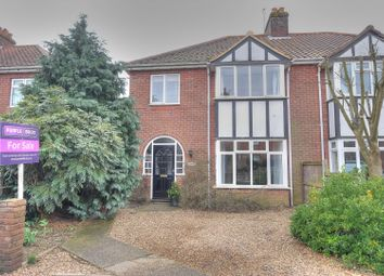 Thumbnail 4 bed semi-detached house for sale in Theatre Street, Dereham