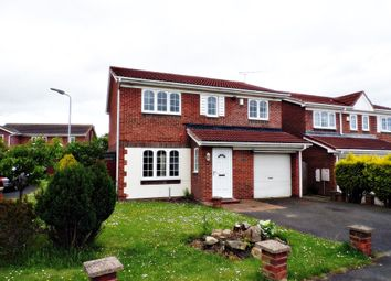 Thumbnail 4 bed detached house for sale in Coleridge Drive, Choppington