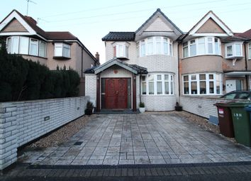 Thumbnail 4 bed terraced house to rent in Exeter Road, Harrow, Middlesex