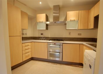Thumbnail 1 bedroom flat to rent in Isis House, Bridge Wharf, Chertsey, Surrey