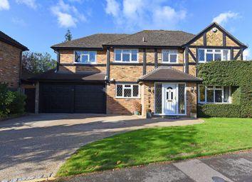 Thumbnail 5 bedroom detached house for sale in St. Leonard's Avenue, Chineham, Basingstoke
