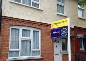Thumbnail 3 bed terraced house to rent in Brooms Road, Luton
