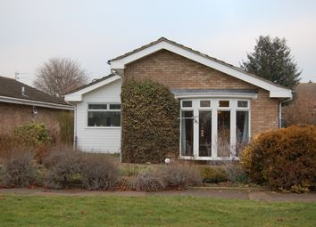 Thumbnail 2 bed detached bungalow for sale in Hickling Close, Bedford