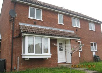 Thumbnail 2 bed town house to rent in Fallow Drive, Eaton Socon, St. Neots