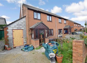 Thumbnail 3 bed semi-detached house for sale in The Sidings, Pengelly, Delabole
