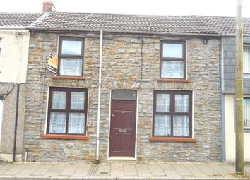 Thumbnail 2 bed terraced house to rent in Tyntyla Road, Ystrad