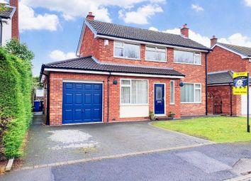 Thumbnail 3 bed detached house for sale in Burnham Close, Culcheth, Warrington
