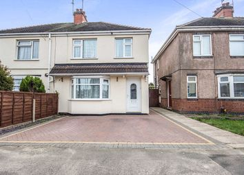 Thumbnail 3 bed semi-detached house for sale in Hammersley Street, Bedworth
