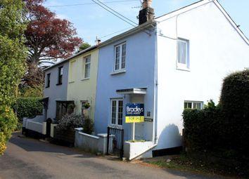 Thumbnail 2 bedroom end terrace house for sale in Rose Cottages, Coombe Road, Shaldon, Devon