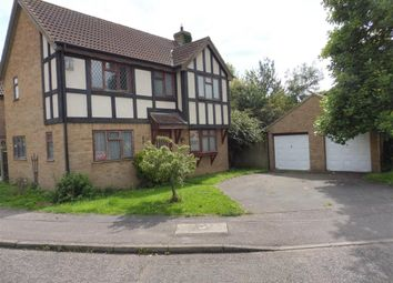 Thumbnail 4 bedroom detached house for sale in Dengaine Close, Papworth Everard, Cambridge