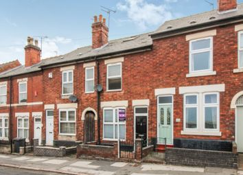Thumbnail 2 bed terraced house for sale in Nottingham Road, Chaddesden, Derby