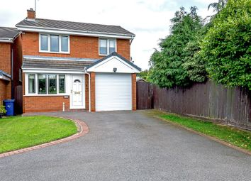 Thumbnail 3 bed detached house for sale in Sapphire Drive, Cannock