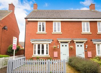Thumbnail 3 bed semi-detached house for sale in Hundred Acre Way, Red Lodge, Bury St. Edmunds