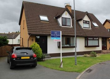 Thumbnail 4 bed semi-detached house for sale in Old Mill Meadows, Dundonald, Belfast